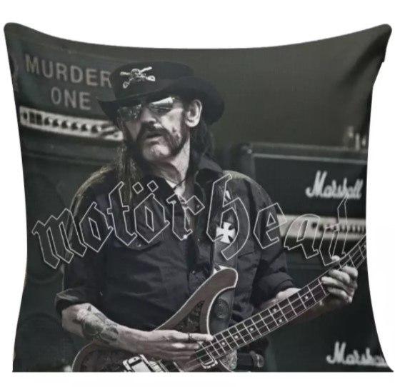 """Capa de Almofada Motörhead - """"Lemmy Kilmister"""""""