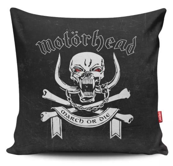 Capa de Almofada Motörhead - March or Die