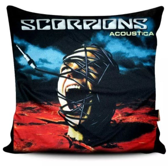 Capa de Almofada Scorpions