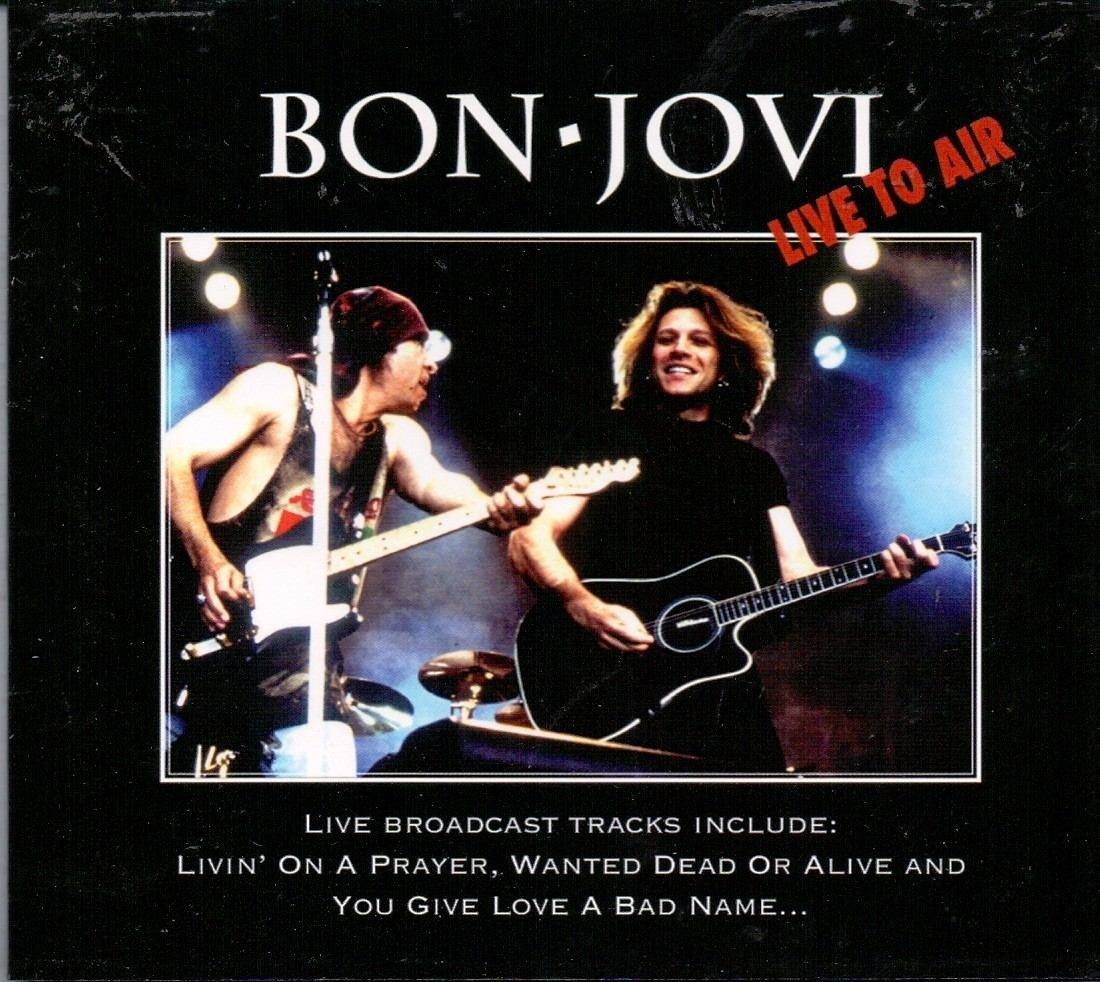 Cd Bon Jovi - Live to Air