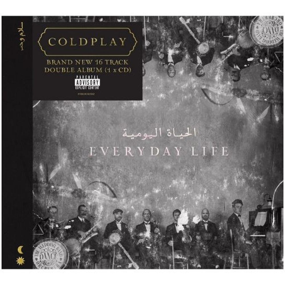 Cd Coldplay - Every Day Life