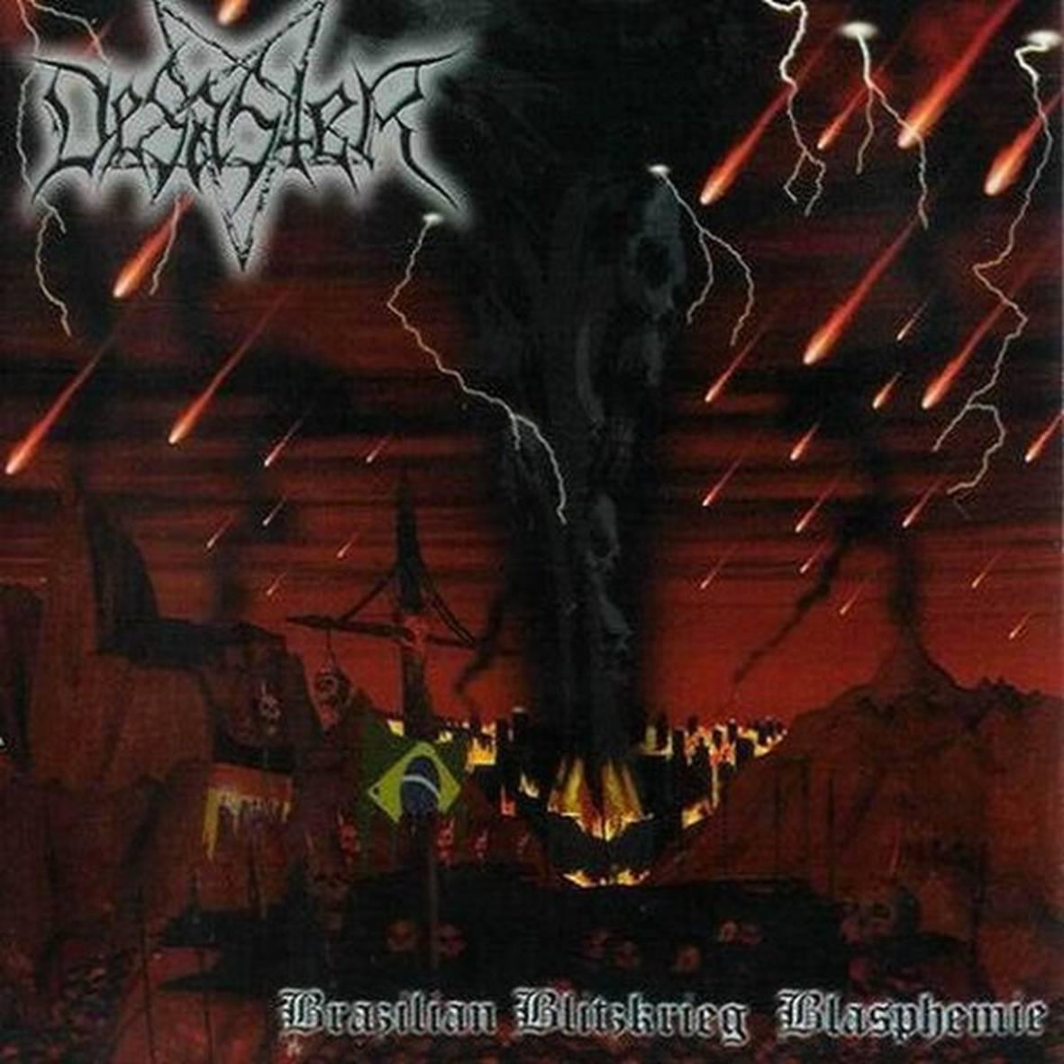 CD Desaster - Brazilian Blitzkrieg Blasphemies