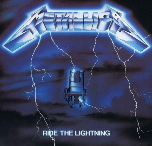 Cd Metallica - Ride The Lightning
