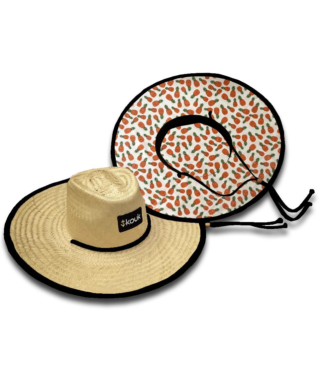 Chapéu de Palha Abacaxi