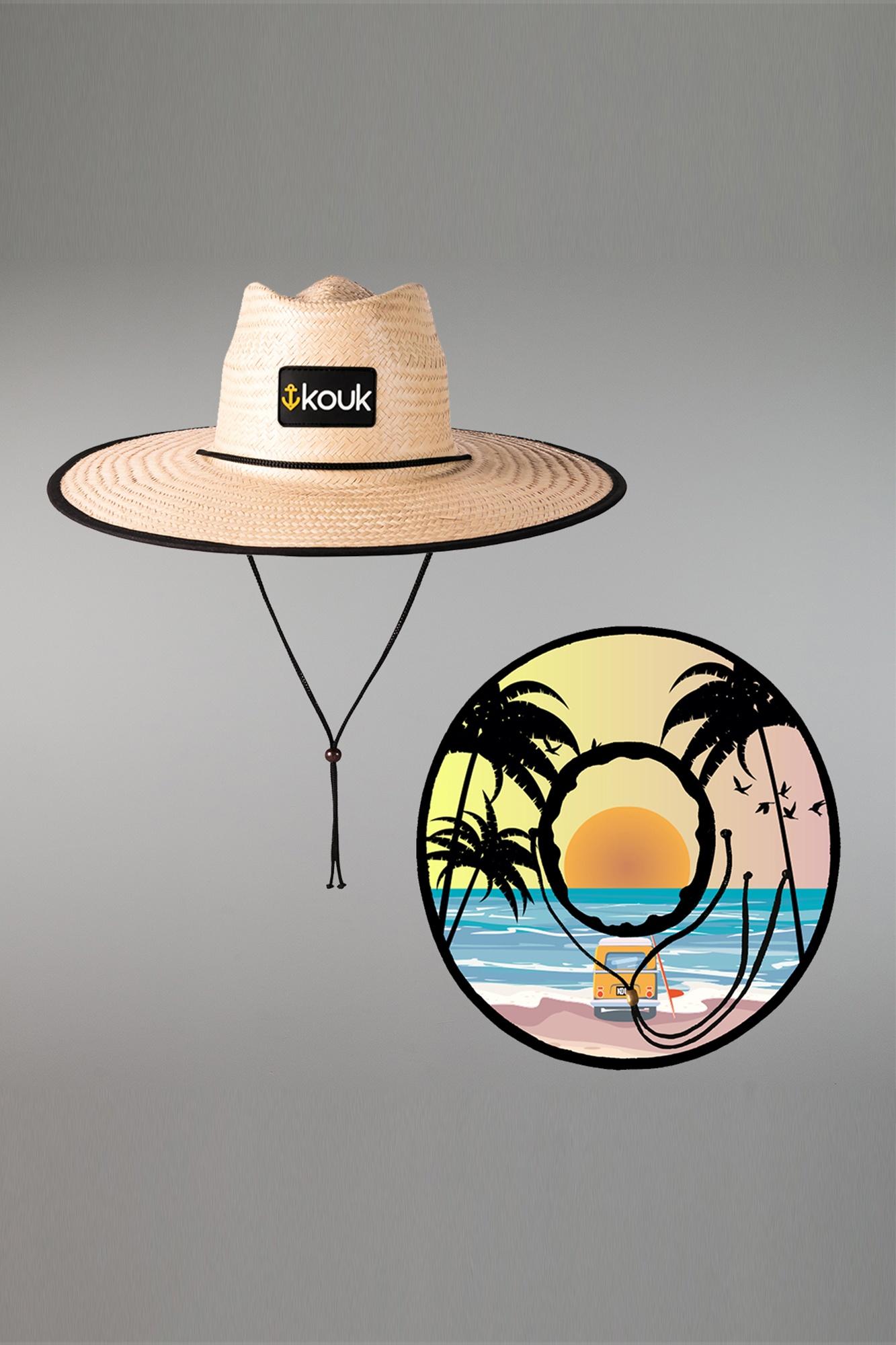 Chapéu de Palha Beach Girl