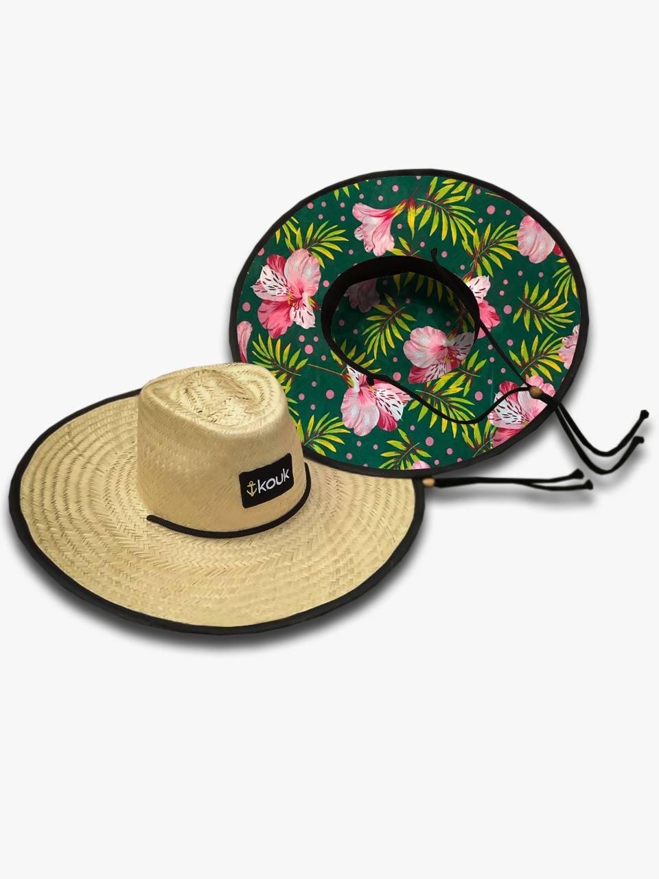 Chapéu de Palha Florido