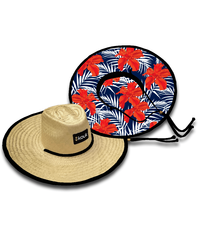 Chapéu de Palha Flower