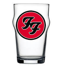 Copo Stout Foo Fighters Beer Cerveja Pint Rock 473ml