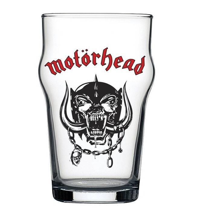 Copo Stout Motorhead Beer Cerveja Pint Rock 473ml