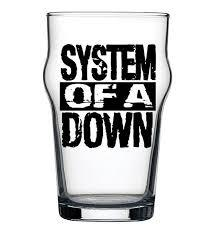 Copo Stout System Of A Down Beer Cerveja Pint Rock 473ml
