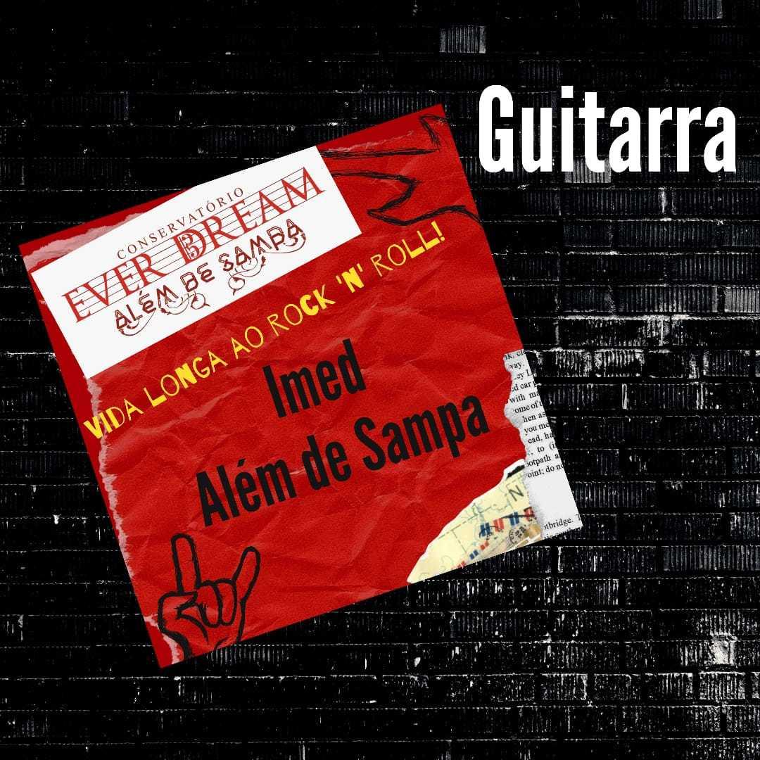 Curso de Guitarra - On-line com duração 6 meses - Conservatório Ever Dream