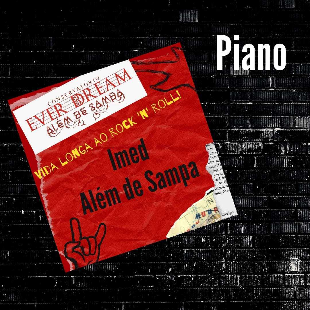 Curso de Piano - On-line  com duração 6 meses - Conservatório Ever Dream