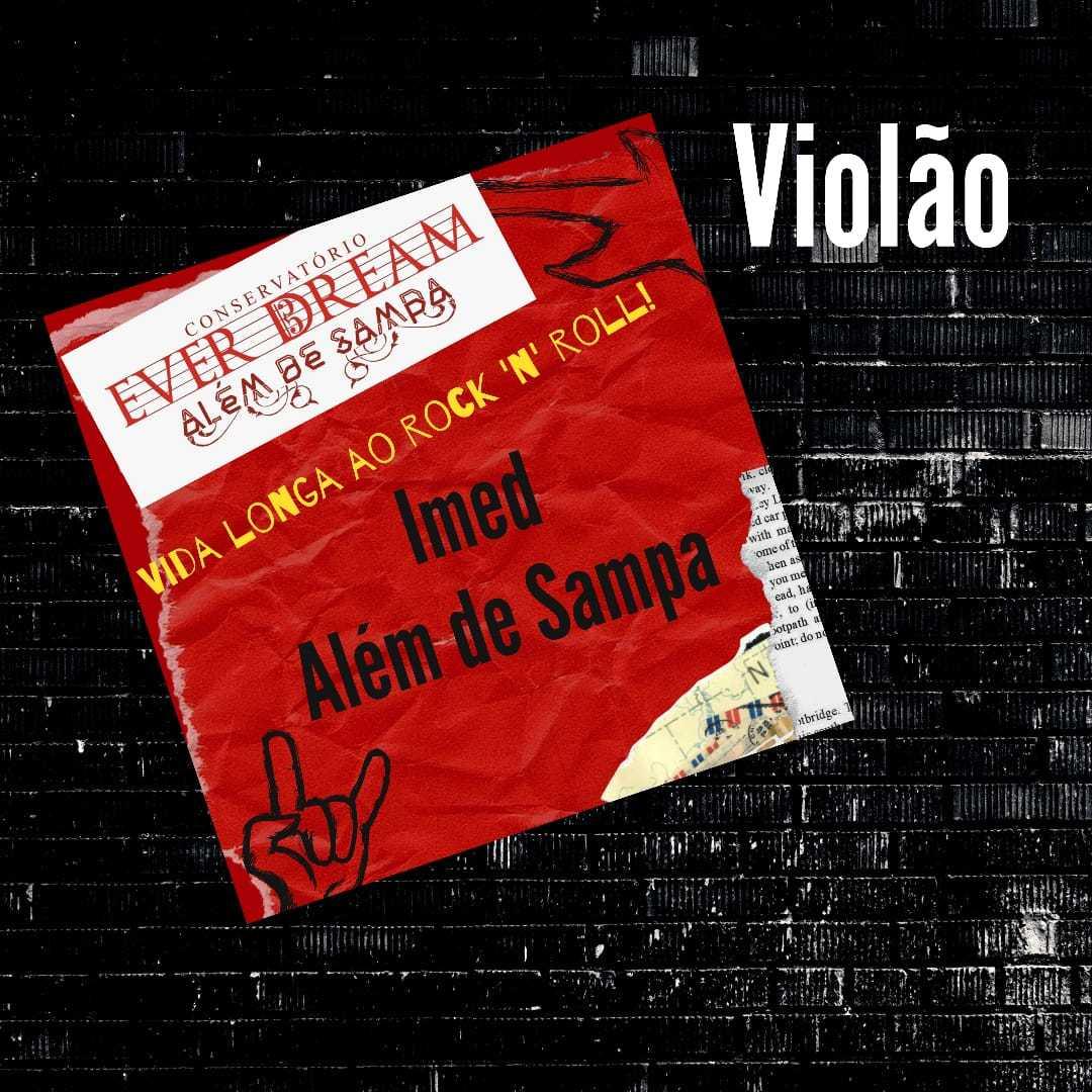 Curso de Violão - On-line com duração 6 meses - Conservatório Ever Dream
