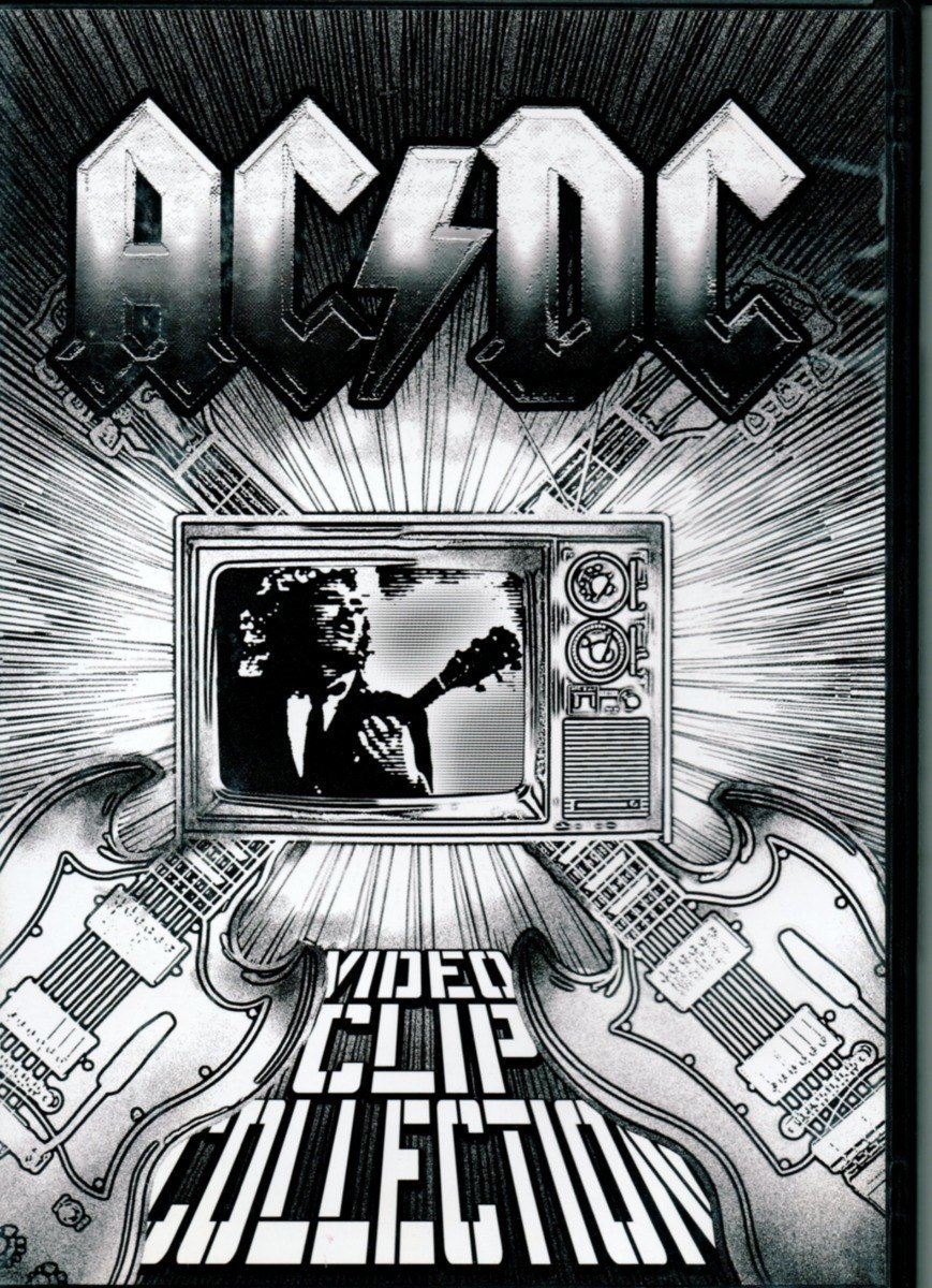 Dvd ACDC - Video Clip Collection