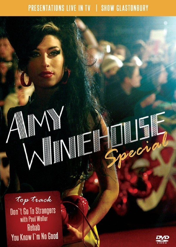 Dvd Amy Winehouse - Especial
