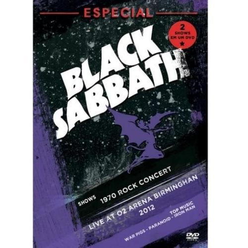 Dvd Black Sabbath - Especial 2 Shows em um Dvd