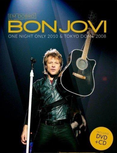 Dvd Bon Jovi - Dvd + cd - One Night 2010 & Tokyo 2008