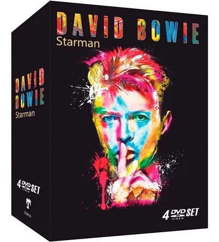 Dvd David Bowie - Starman (box 4dvds)