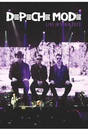 Dvd Depeche Mode - Live in Spain 2013