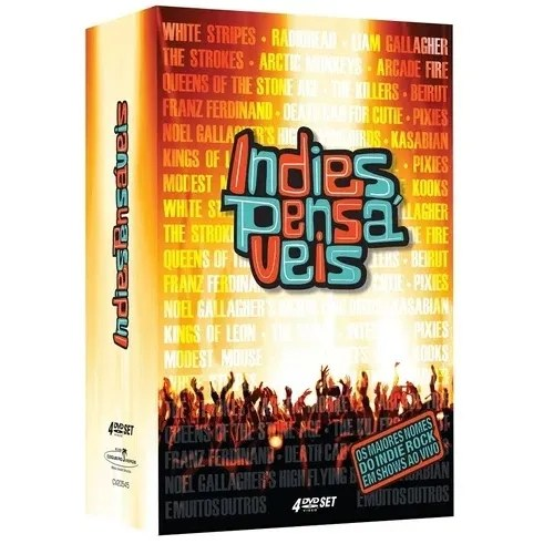 Dvd Indiespensáveis - Box (4dvds)