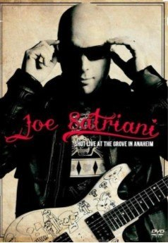 Dvd Joe Satriani - Shot Live at The Grove in Anah