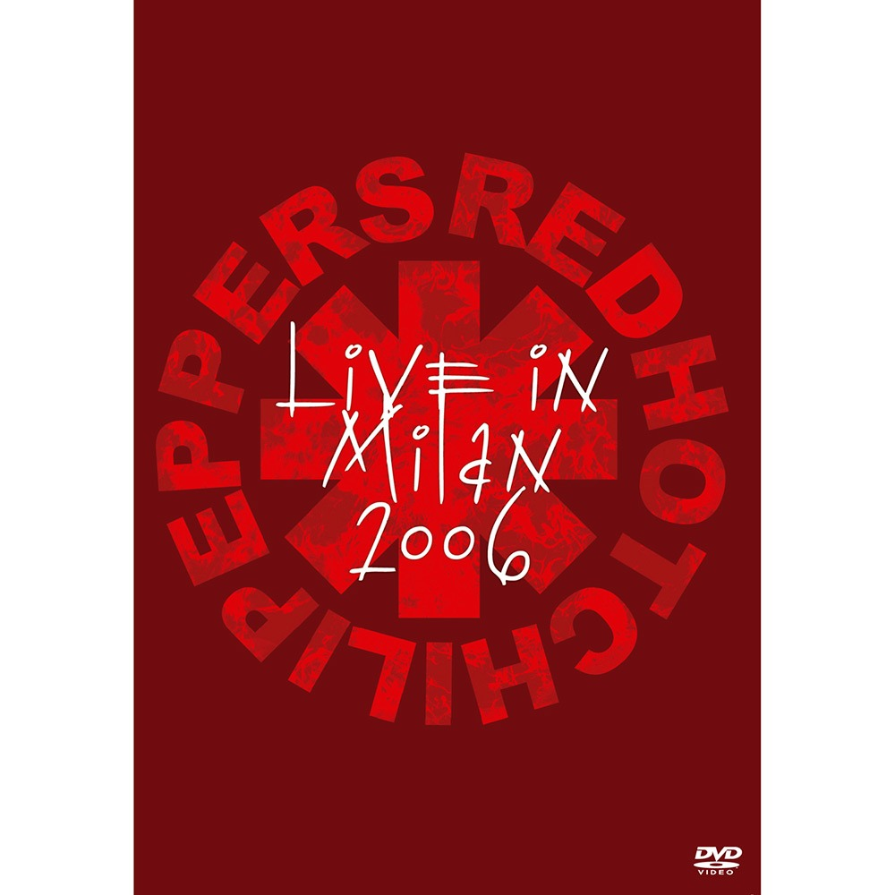 Dvd Red Hot Chili Peppers - Live in Milan 2006