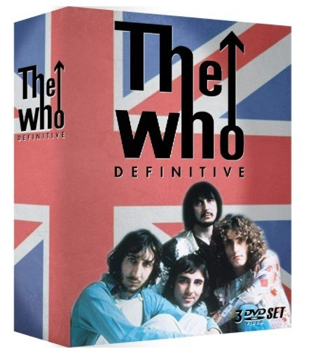 Dvd The Who - Definitive (box 3dvds)