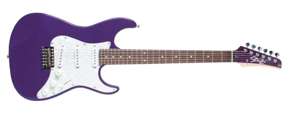 Guitarra Seizi Vision Metallic Dark Purple