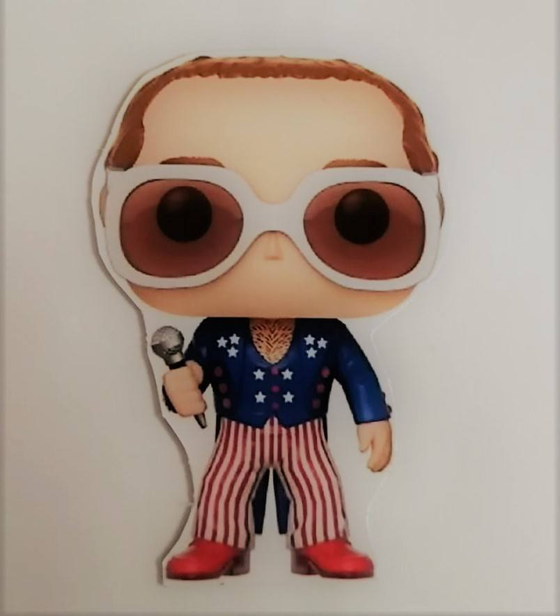 Ímã de geladeira - Elton John