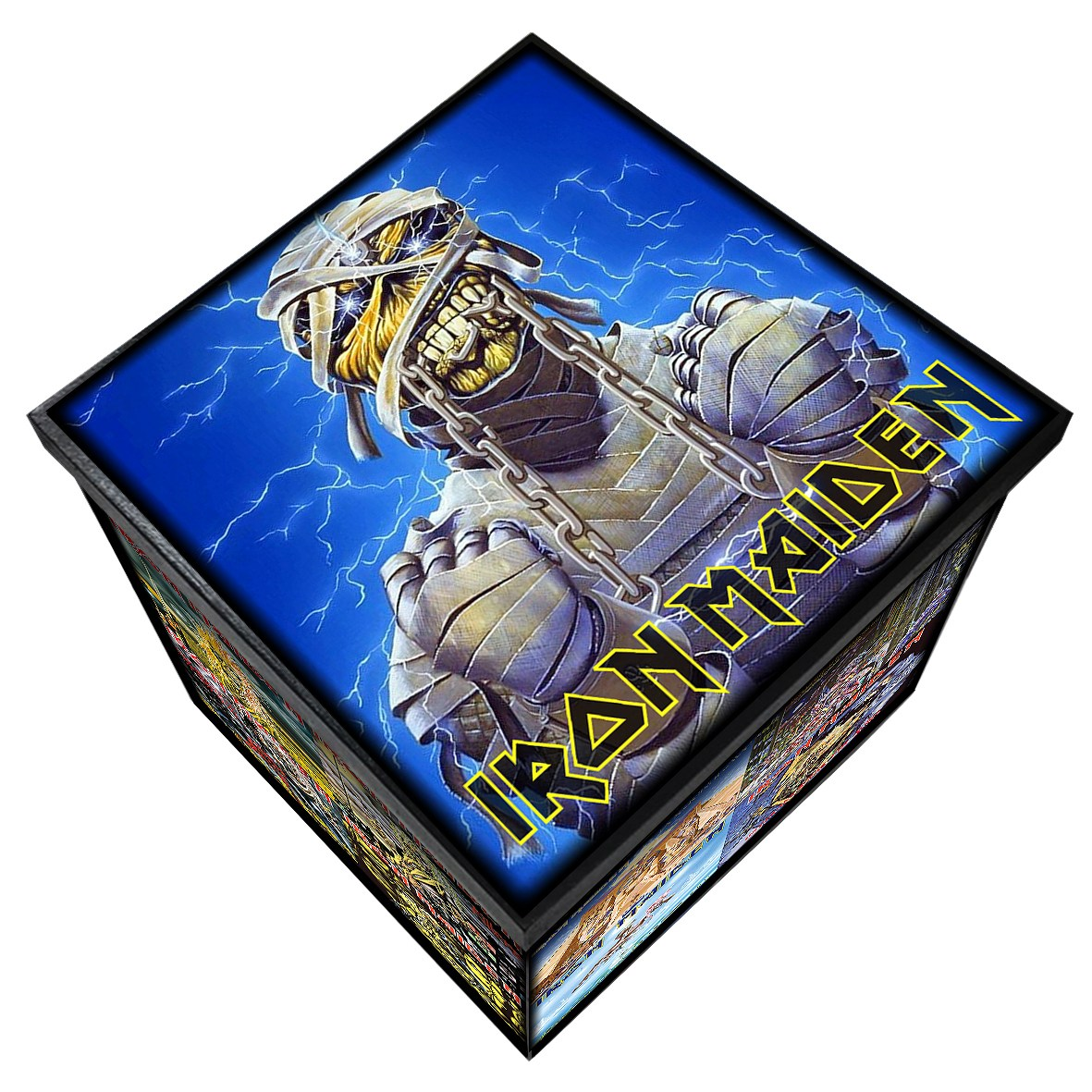 Iron Maiden - Capas - Caixa em MDF - Tam. Grande - Mr. Rock