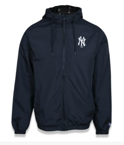 JAQUETA NEW ERA CORTA VENTO (WINDBREAKER) NEW YORK YANKEES PRETO MBI20JAQ027