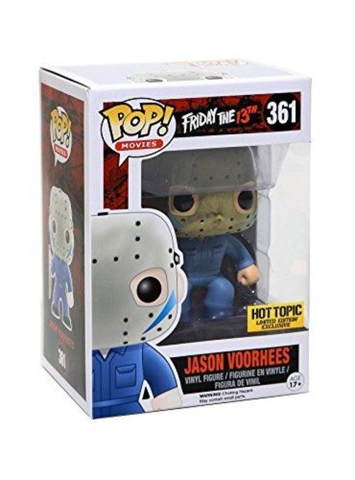 Jason Voorhees - Friday The 13th - Sexta-Feira 13 - Funko Pop! #361 Exclusivo Hot Topic