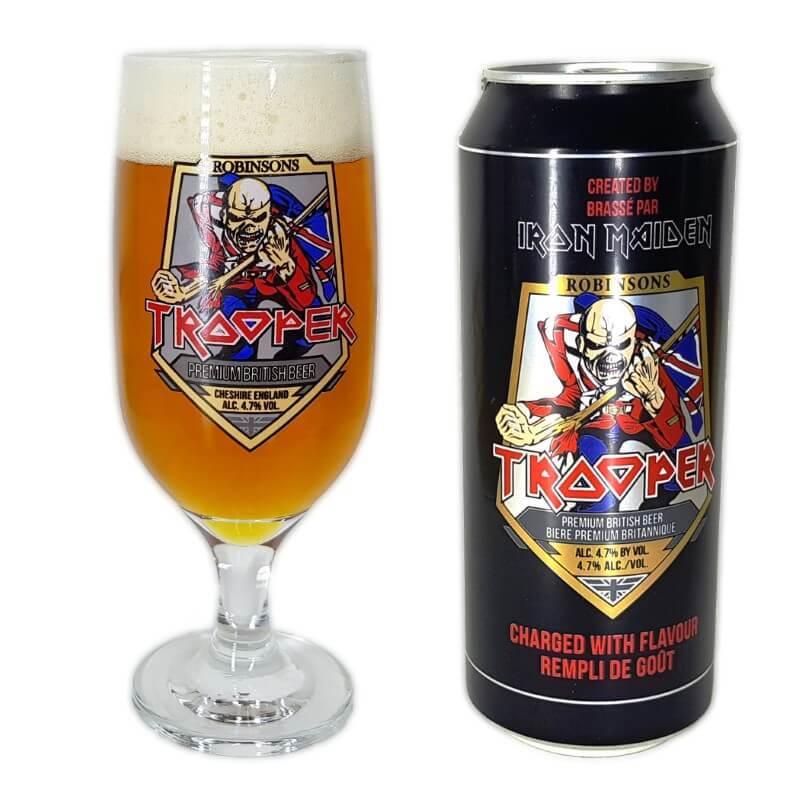 Kit Cerveja Trooper + Taça Cerveja Personalizada 300ml