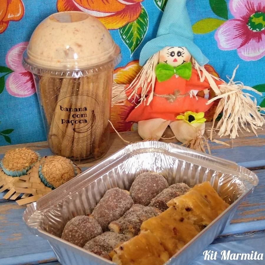 Kit Marmita Pé de Moleque ou Cajuzinho
