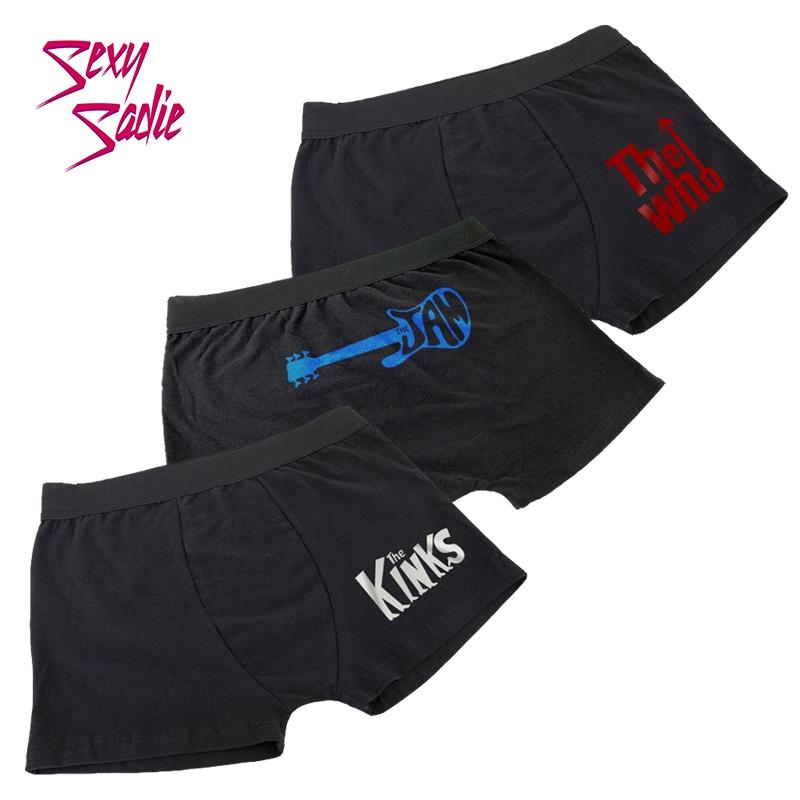 Kit Mod - 3 Cuecas Boxer - Sexy Sadie Underwear