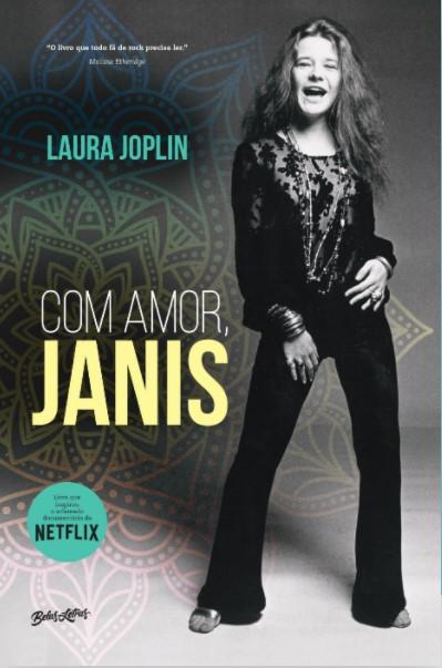 Livro Com Amor, Janis - Editora Belas Letras