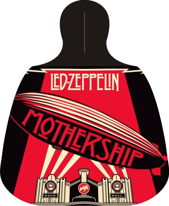 Lixeira Lixinho para carro Led Zeppelin