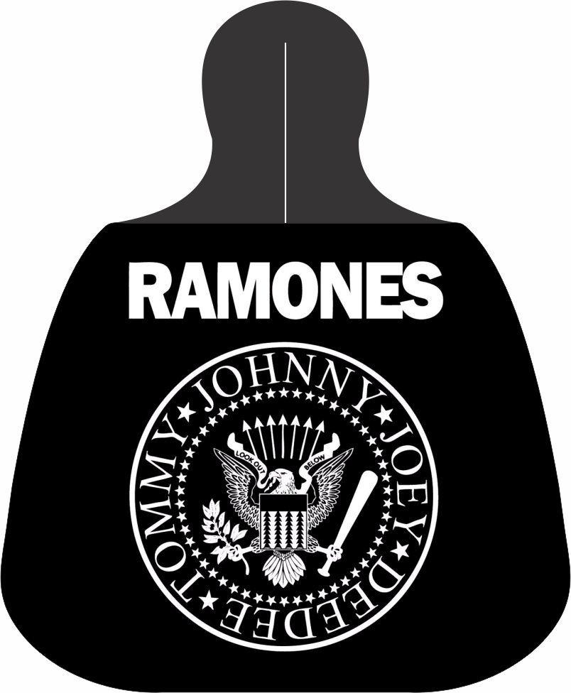 Lixeira Lixinho para carro Ramones