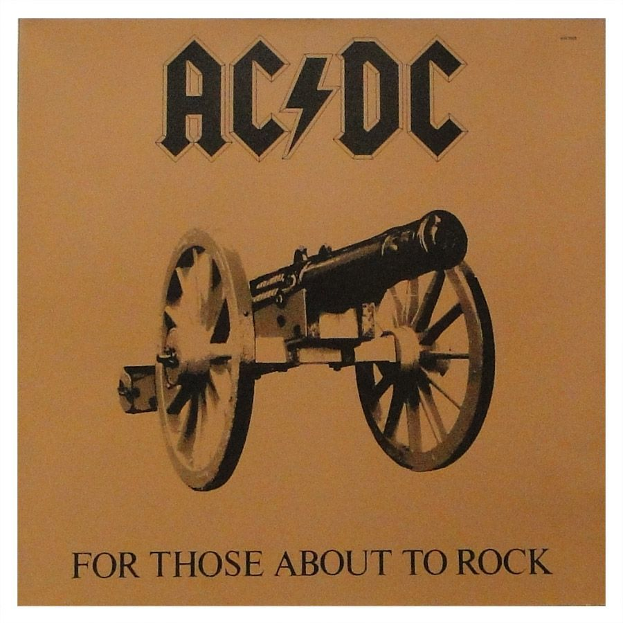 LP Vinil AC/DC - For Those About Rock - We Solute You - Importado