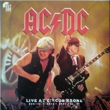Lp Vinil ACDC - Live at Circus Krone - Vol 01