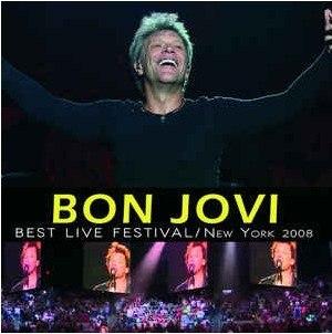 Lp Vinil Bon Jovi - Best Live Festival NY 2008