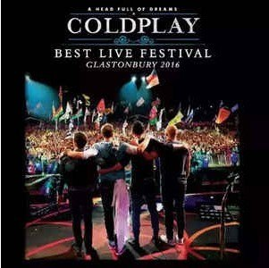 Lp Vinil Coldplay - Best Live Festival Glastonbury