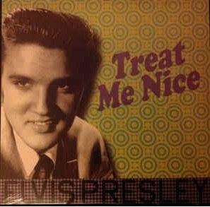 Lp Vinil Elvis Presley - Treat me Nice - Importado