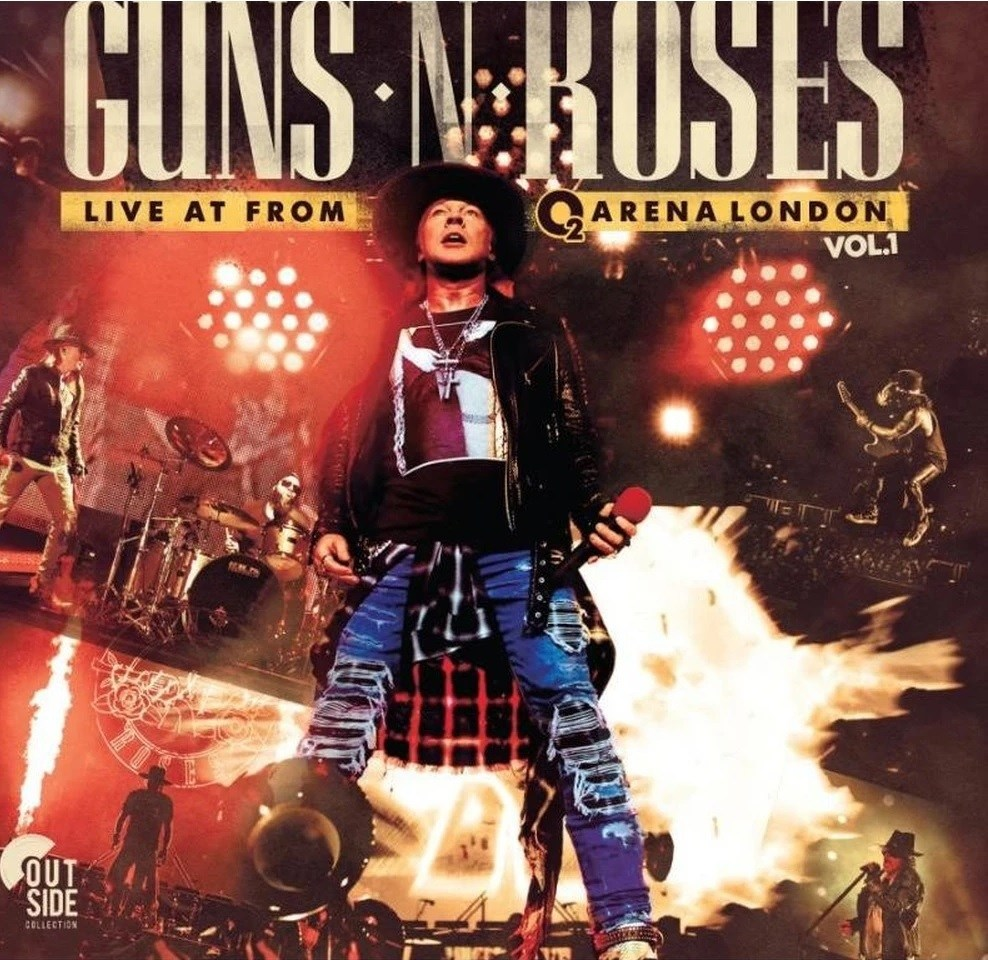 LP Vinil Guns n Roses - Live at The o2 Arena London