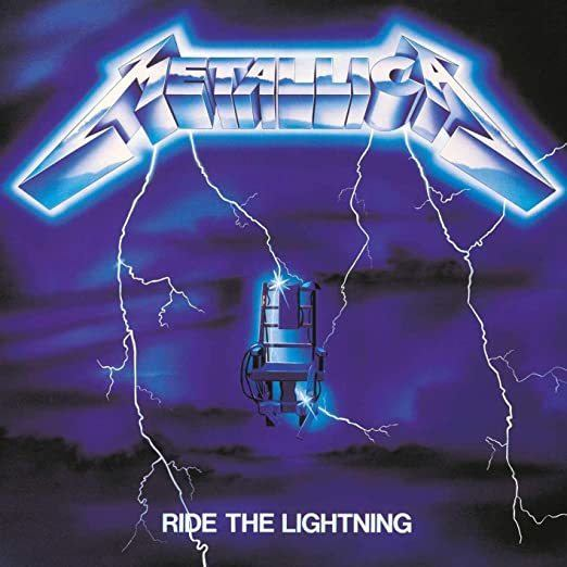 LP Vinil Metallica - Ride The Lightning Remastered - Importado
