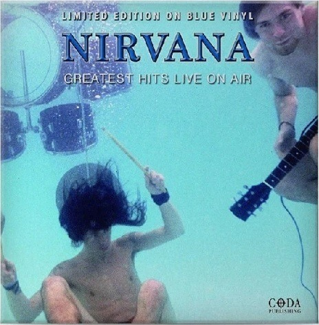 LP Vinil Nirvana - Greatest Hits Live on Air - Importado