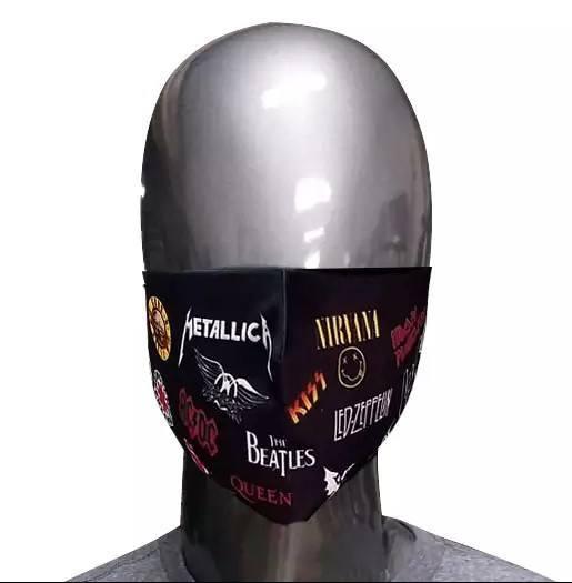 Máscara de Tecido Bandas