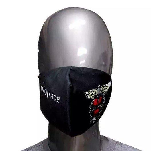 Máscara de Tecido Bon Jovi