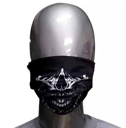 Máscara de Tecido Caveira Bigode
