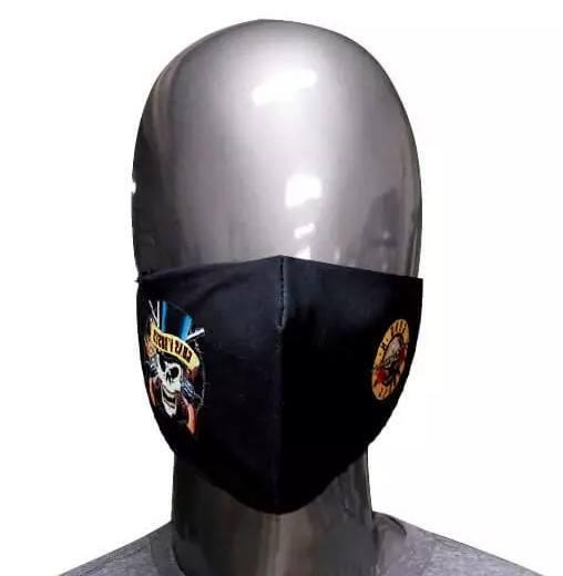 Máscara de Tecido Guns n' Roses